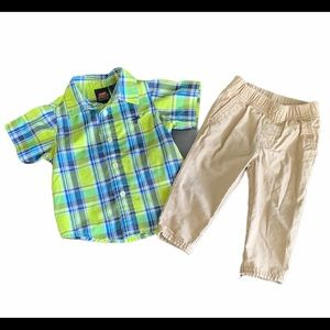 2PC Boys Outfit Size 12-18 Months